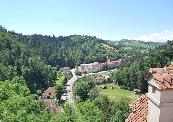 castillo bran vistas