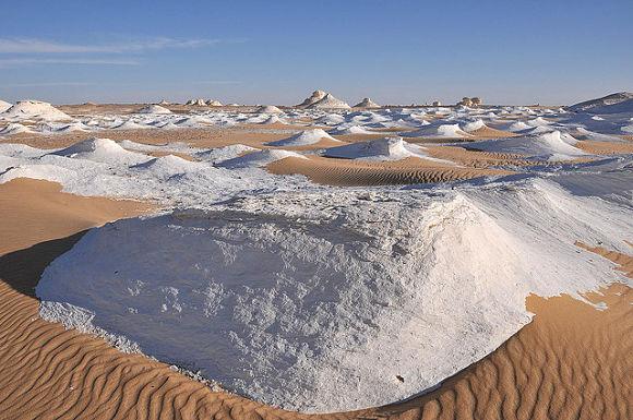 Desierto blanco Farafra Egipto