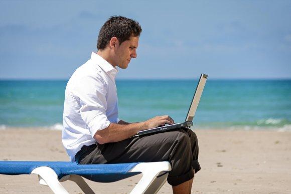 Vacaciones no sabemos desconectar Internet