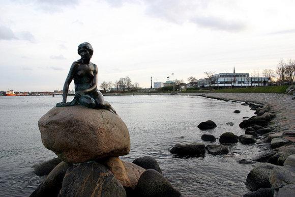 La sirenita se ha convertido en el símbolo de Copenhague