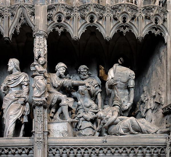 Catedral Chartres Esculturas