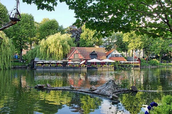 Jardines Tivoli Copenhague