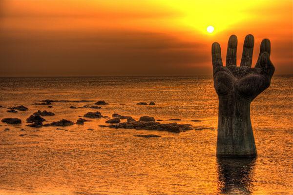 La Mano De La Armon U00eda  Una Escultura Sin Igual En Corea