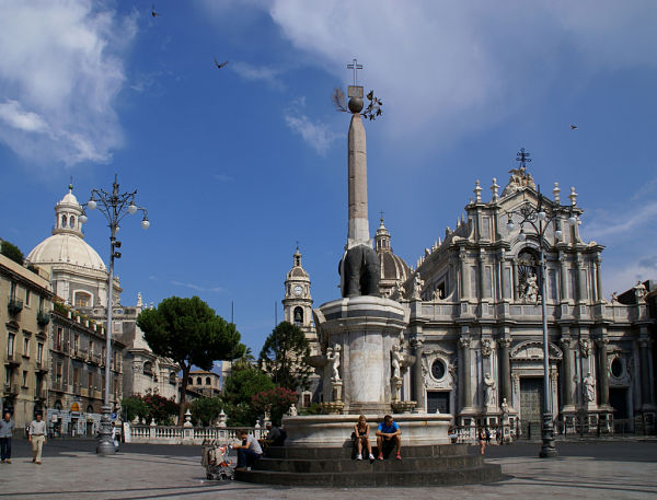 Plaza de la Catedral de Catania