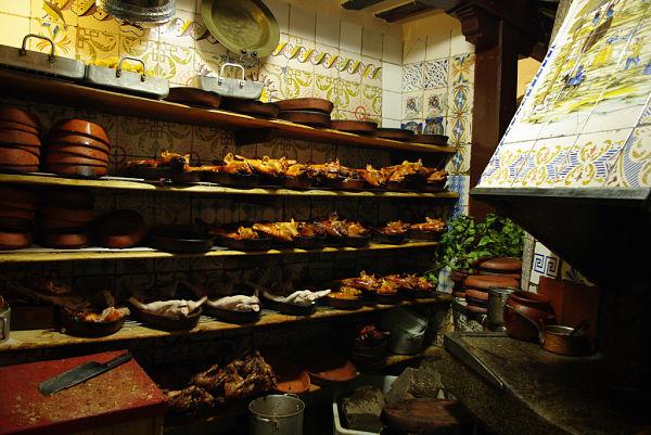 Horno leña restaurante Botín