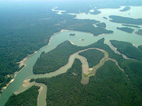 Río Hamza Amazonas