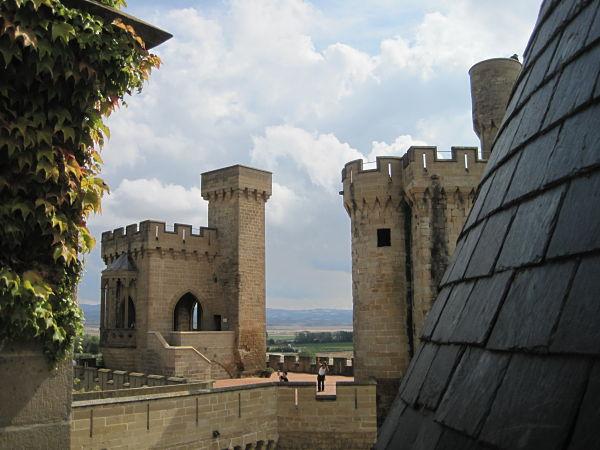 Castillo Olite Torre Atalaya y Cuatro Vientos