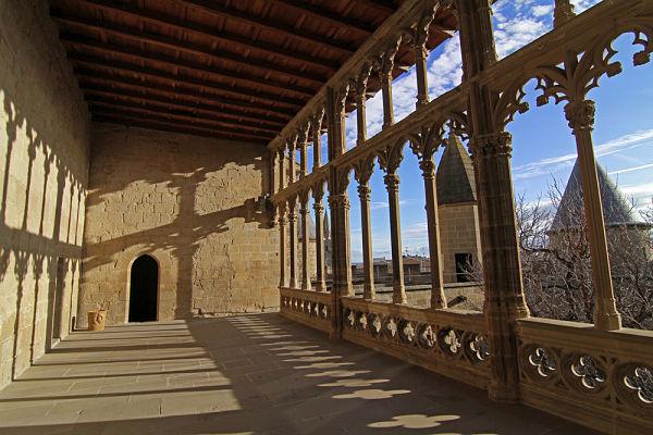 Palacio Olite Galería rey