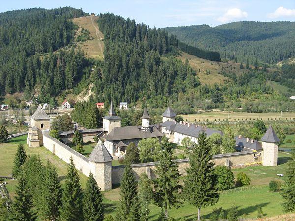Monasterio Sucevita Rumania