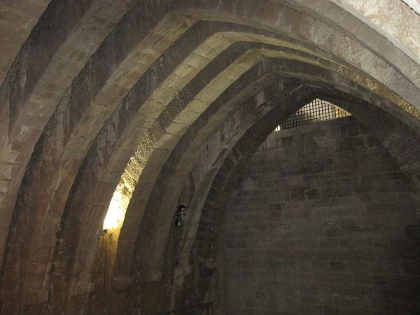 Castillo Olite sala de los Arcos
