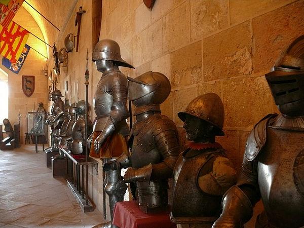 Alcázar de Segovia armaduras