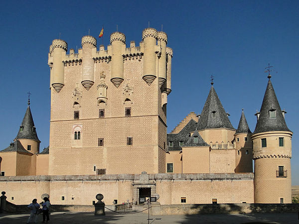 Alczar de Segovia torre juan II