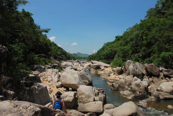 Ham Ho paisajes rocosos