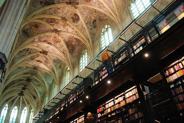Interior librería Maastricht