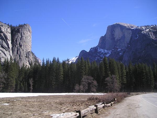 Parque Nacional Yosemite senderos