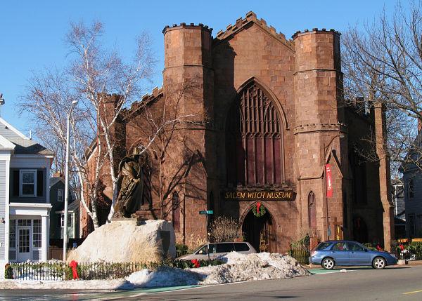 Museo de las brujas Salem