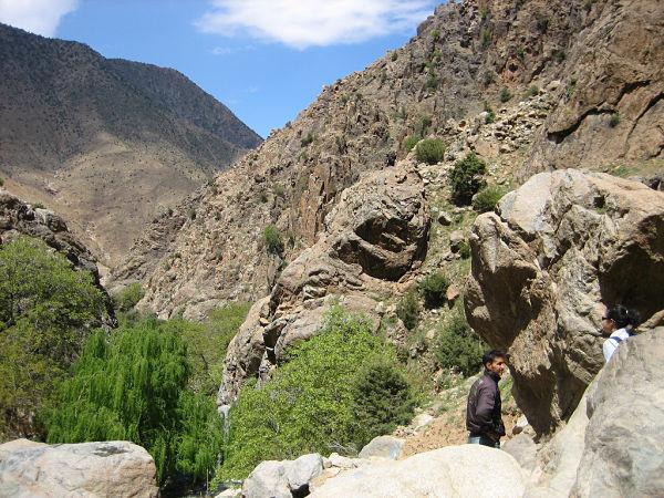 valle Ourika Montañas