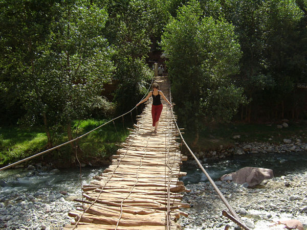 valle Ourika puente