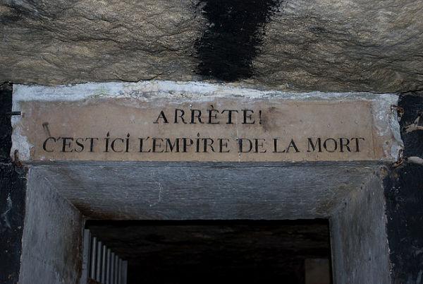 Catacumbas París entrada