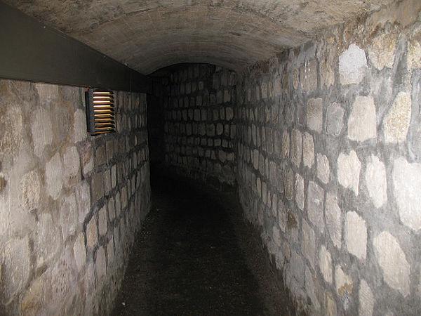 Catacumbas París túneles