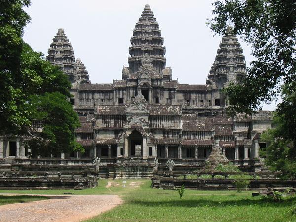 Angkor Wat torres