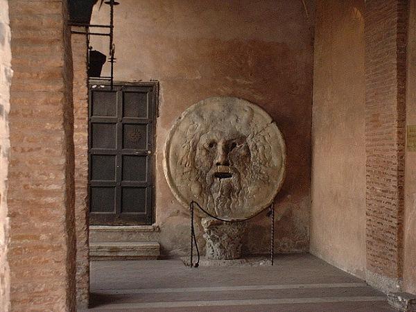 Boca de la verdad iglesia Roma