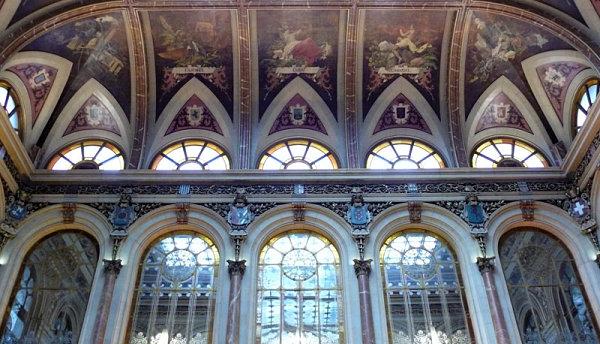 palacio bolsa madrid techo