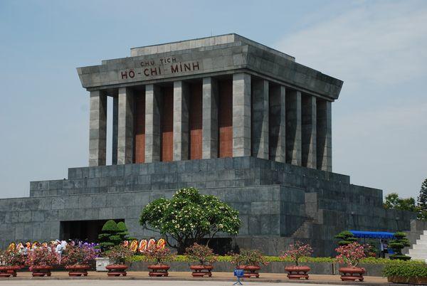 Ho Chi Minh Hanoi Mausoleo