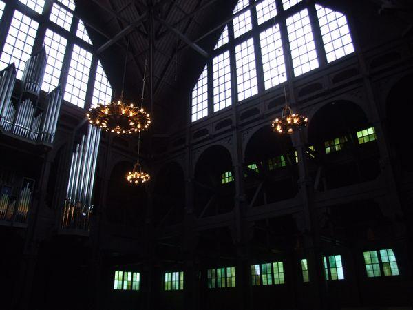 Iglesia Kiruna Suecia Interior