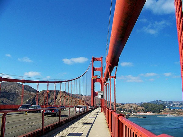 Puente Golden Gate paseo