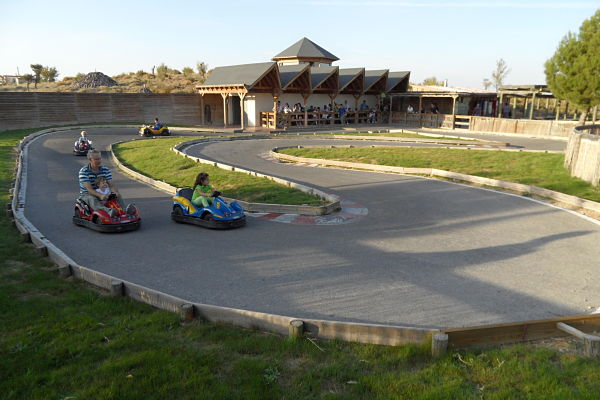Circuito de mini-rally en la sección del Bosque de Sendaviva