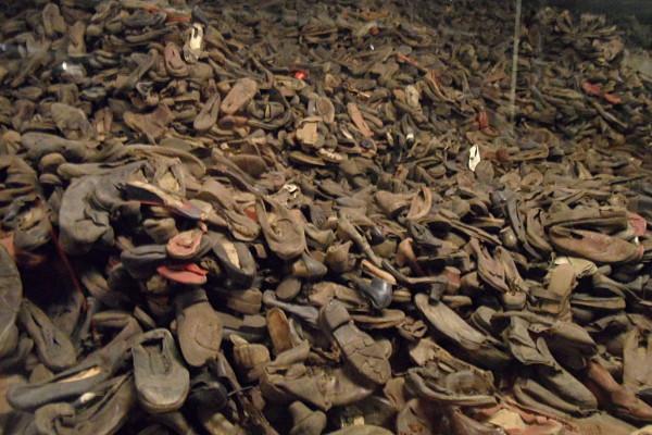 Ver tanto calzado junto en Auschwitz produce una sensación indescriptible