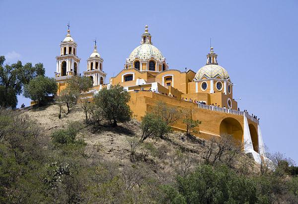 iglesia Nuestra Señora Remedios Cholula México