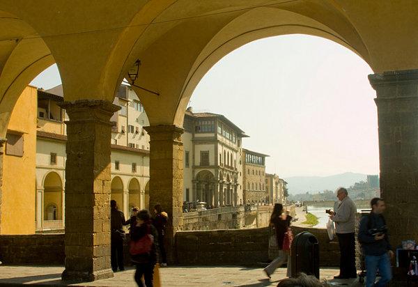 Puente Vecchio tiendas