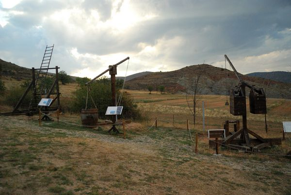 Museo Armas Asedio Trebuchet Park Albarracín