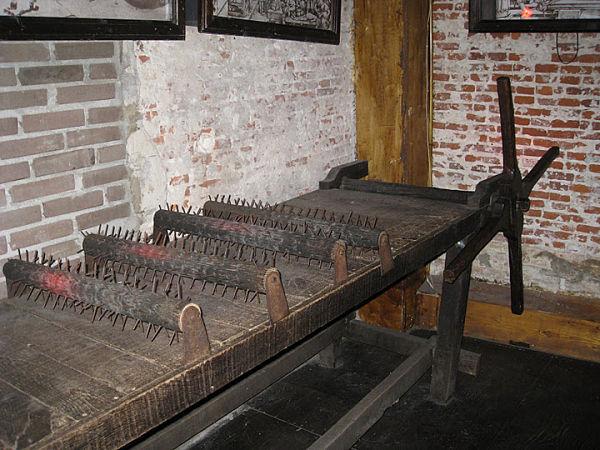 Museo de la Tortura objetos