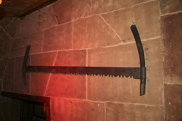 Museo de la Tortura sierra