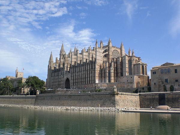 Catedral de Palma de Mallorca parc de la mar