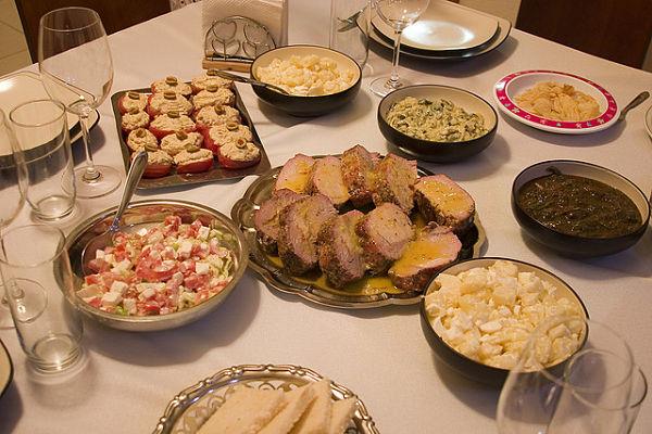 cena navidad mexico