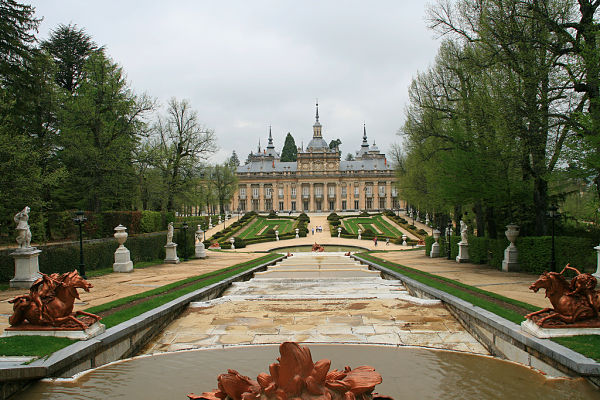 palacio real granja san ildefonso