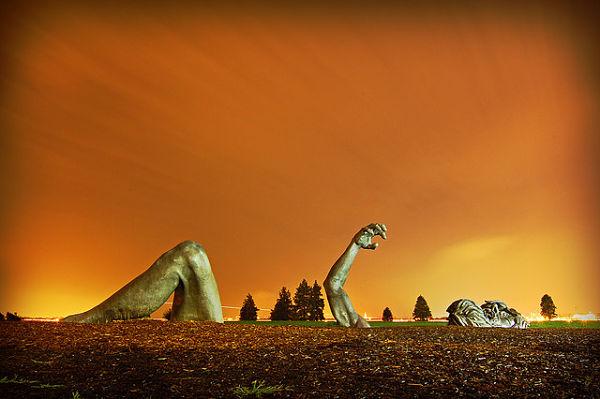 the awakening escultura