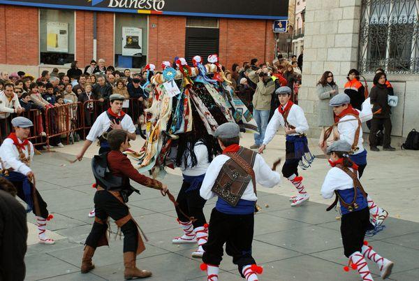 Fiesta de la Vaquilla Colmenar Viejo Vaquilleros Taleguero Mayoral