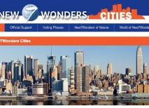 New Seven Wonders Cities