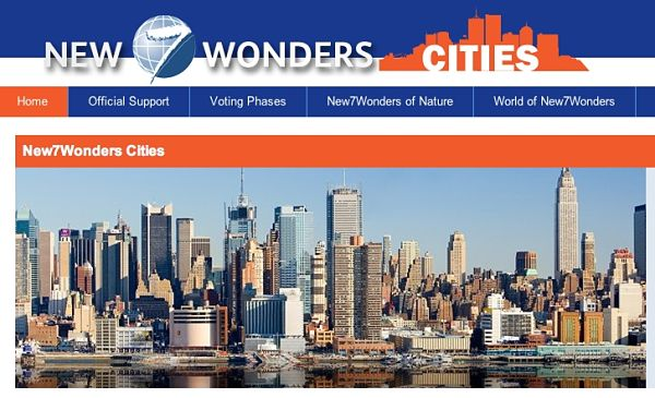 New Seven Wonders Cities