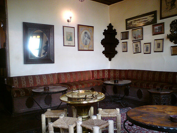 pierre loti cafe interior