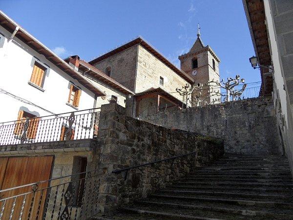 Parroquia San Román Escároz Navarra Valle de Salazar