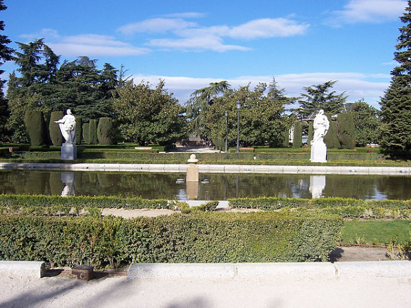 jardines sabatini esculturas