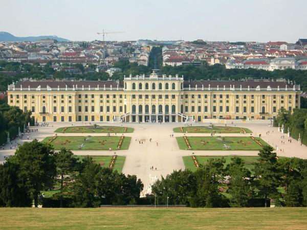 palacio Schonbrunn viena