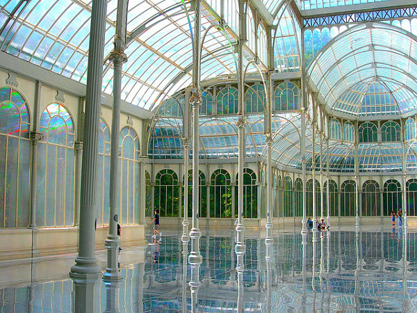 palacio cristal madrid interior