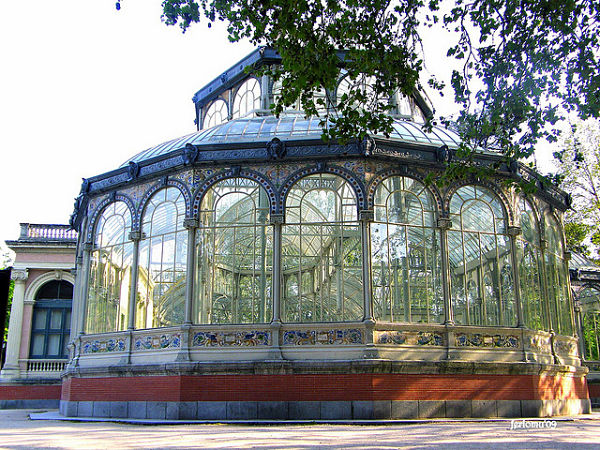 palacio cristal madrid retiro